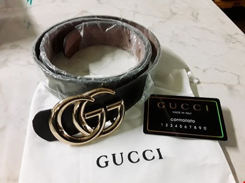 Lot 597 GUCCI STYLE BOXED BELT