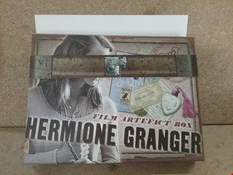 Lot 349 BRAND NEW BOXED HERMIONE GRAINGER FILM ARTIFACT BOX