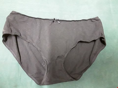Lot 69 GEORGE BLACK FULL LADIES BRIEFSSIZE UK 14