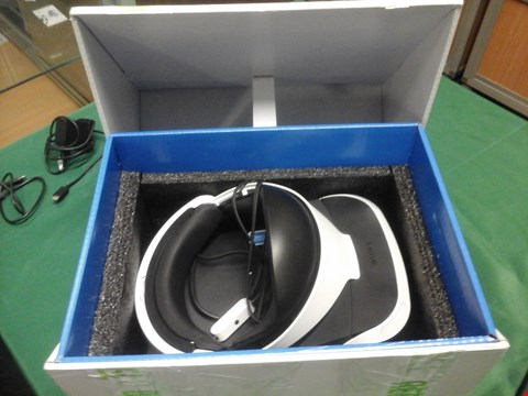 Lot 1087 BOXED PLAYSTATION VR HEADSET  RRP £459