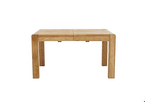 Lot 85 BOXED DESIGNER WILLIS & GAMBIER PORTLAND LARGE EXTENDING DINING TABLE (1 BOX) RRP £869