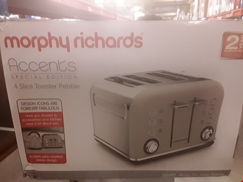 Lot 2067 MORPHY RICHARDS ACCENTS 4 SLOT TOASTER