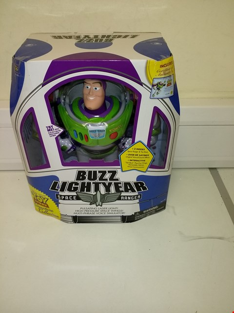 Lot 3068 TOY STORY BUZZ LIGHTYEAR SPACE RANGER SIGNATURE COLLECTION RRP £74.99