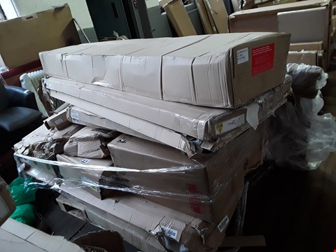 Lot 9127 PALLET OF ASSORTED FLAT PACK FURNITURE PARTS