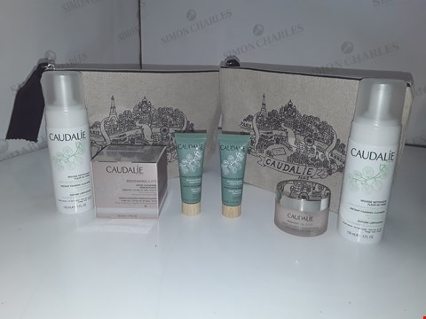 Lot 740 CAUDALIE PARIS X2 BAG/ INSTANT FOAMING CLEANSER 150 ML X2/ RESVERATROL LIFT CREAM 50ML X2/ INSTANT DETOX MASK 15ML X2