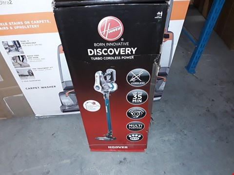 Lot 12652 HOOVER DISCOVERY DS22PTGC 001 CORDLESS PET HOOVER