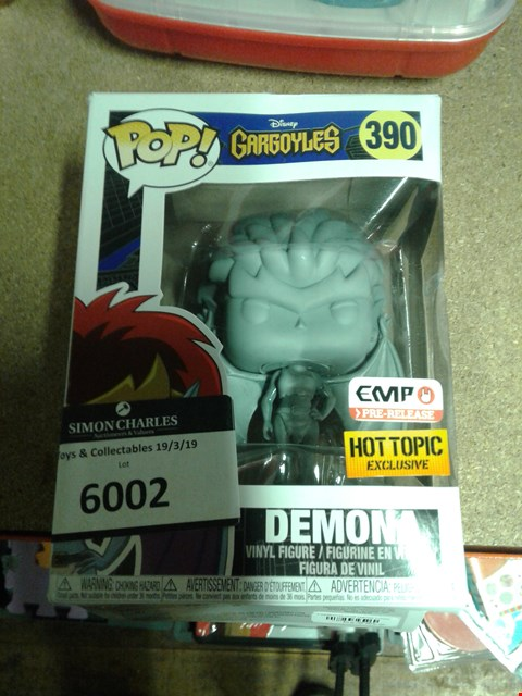 Lot 6002 POP DISNEY GARGOYLES