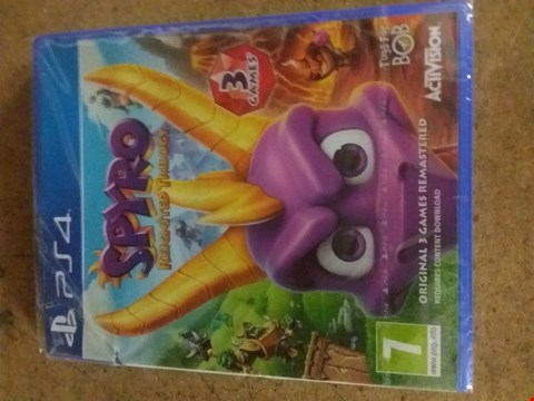 Lot 2389 SPYRO REIGNITED TRILOGY FOR PS4