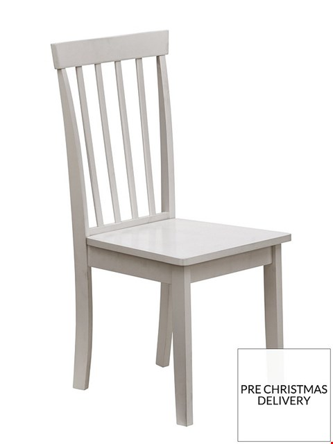 Lot 2003 BOXED GRADE 1 SET OF 4 SOPHIA GREY DINING CHAIRS