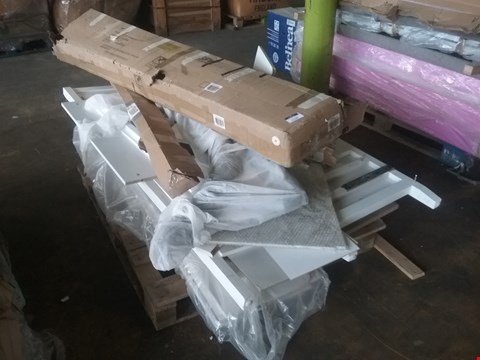 Lot 4138 PALLET OF ASSORTED BED AND WARDROBE PARTS