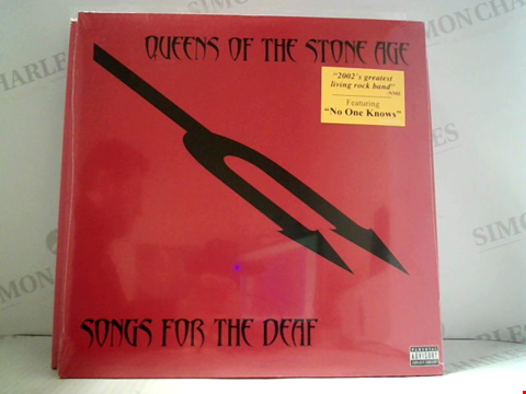 Lot 6159 LOT OF 10 ASSORTED VINYL RECORDS TO INCLUDE; QUEENS OF THE STONE AGE, IRON MAIDEN, BIFFY CLYRO ETC