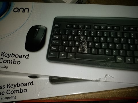 Lot 1137 LOT OF 2 ONN WIRELESS KEYBOARD & MOUSE COMBOS PACKS