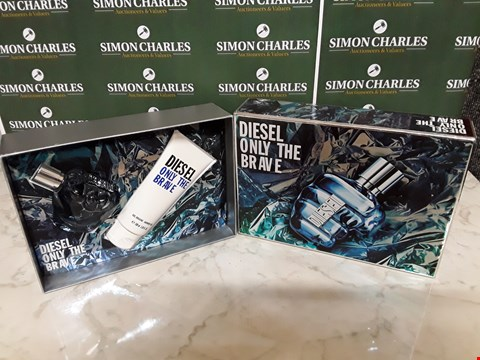 Lot 12033 DIESEL STYLE ONLY THE BRAVE 2PC BOXSET