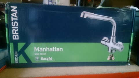Lot 5509 BRISTAN EASY FIT MANHATTAN SINK MIXER