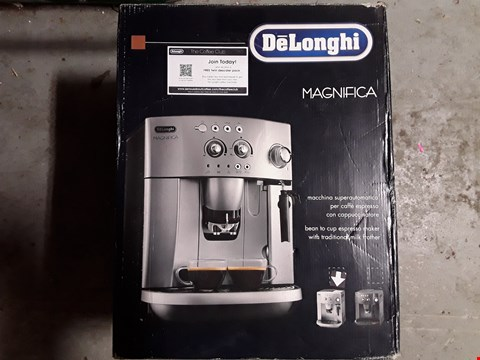 Lot 339 DELONGHI MAGNIFICA BEAN TO CUP COFFEE MACHINE