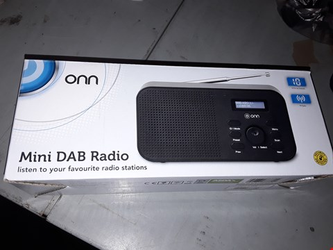 Lot 12241 LOT OF 2 ONN MINI DAB RADIO