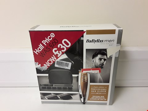 Lot 6239 BOXED BABYLISS HAIR CLIPPER