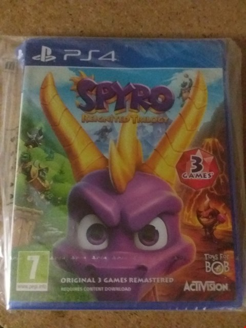 Lot 2396 SPYRO REIGNITED TRILOGY FOR PS4