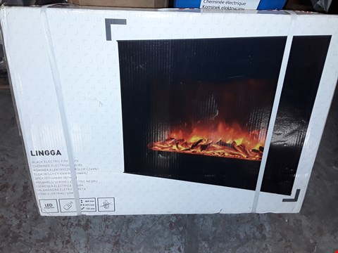 Lot 3062 LED REMOTE CONTROL ELECTRIC FIRE RRP £78