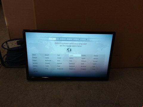 "Lot 1089 LUXOR 24"" HD READY TELEVISION MODEL LUX0124001/01 RRP £219.95"