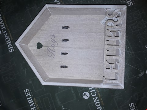 Lot 1215 LETTERS AND KEYS STORAGE RACK