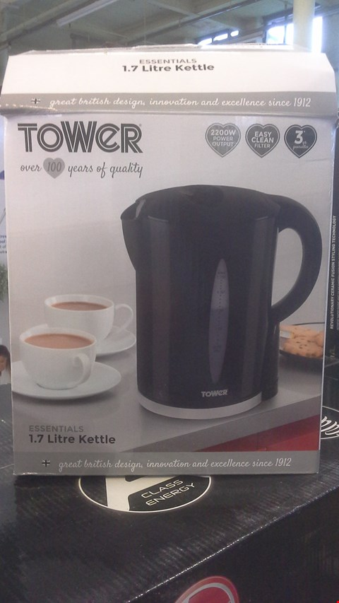 Lot 2251 TOWER ESSENTIALS 1.7 LITRE KETTLE
