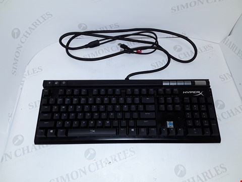 Lot 4004 HYPERX ALLOY ELITE FOR THE GAMING MECHANICAL KEYBOARD