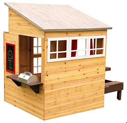 Lot 68 BOXED KIDKRAFT MODERN OUTDOOR PLAYHOUSE RRP £549.99