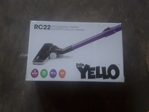 Lot 1092 LITTLE YELLOW RC22 RECHARGEABLE CORDLESS
