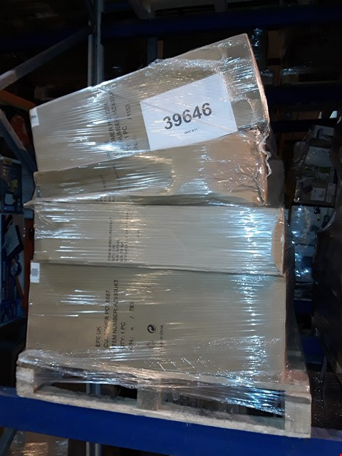 Lot 28 PALLET OF APPROXIMATELY 16 ASSORTED UNPROCESSED HOUSEHOLD AND ELECTRICAL ITEMS