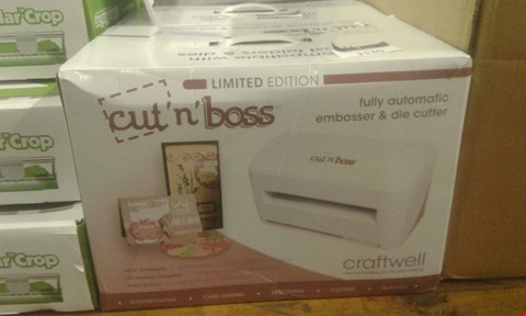 Lot 42 CRAFTWELL CUT 'N' BOSS DIE CUTTING MACHINE