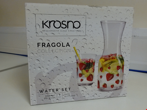 Lot 5322 QUANTITY OF 10 KROSNO FRAGOLA COLLECTION 7 PIECE WATER SET