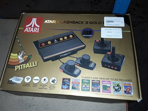 Lot 133 ATARI FLASHBACK 8 GOLD
