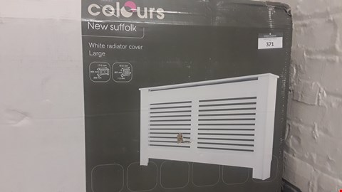 Lot 227 COLOURS NEW SUFFOLK WHITE LARGE RADIATOR COVER RRP £95