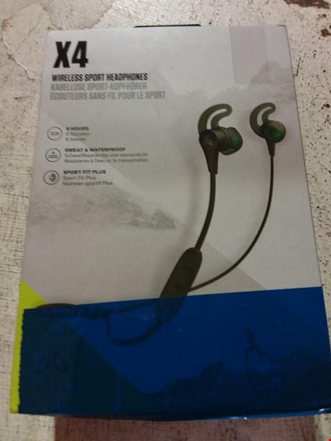 Lot 635 JAYBIRD X4 SPORT AND RUNNING, WIRELESS BLUETOOTH HEADPHONES