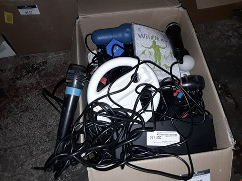 Lot 9118 A BOX OF APPROXIMATELY 20 ASSORTED NINTENDO WII PRODUCTS