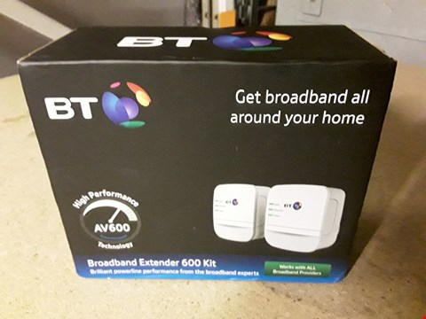 Lot 8293 BT BROADBAND EXTENDER 600 KIT