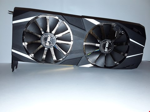 Lot 4297 ASUS DUAL-RTX2070-O8G DUAL GEFORCE RTX 2070 OC EDITION 8 GB GDDR6 WITH POWERFUL COOLING FOR HIGHER REFRESH RATES AND VR GAMING