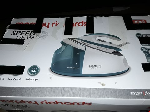 Lot 12492 MORPHY RICHARDS SPEED STEAM IRON