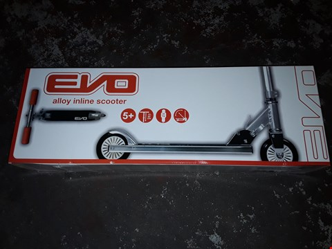 Lot 7110 EVO ALLOY IN LINE SCOOTER  RRP £25.99