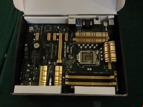 Lot 95 BOXED ASUS Z87-PRO VERY EDITION MOTHERBOARD