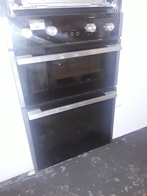 Lot 61 COOKE & LEWIS INTEGRATED DOUBLE ELECTRIC OVEN  RRP £459