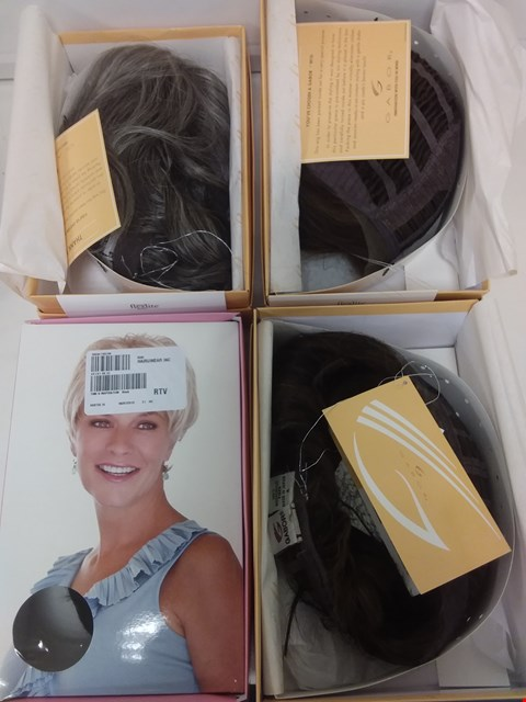 Lot 579 LOT OF 4 ASSORTED WIGS