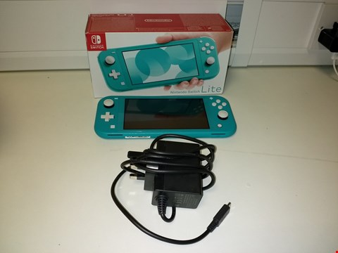 Lot 2190 NINTENDO SWITCH LITE TURQUOISE CONSOLE RRP £259.99