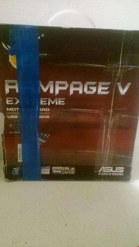 Lot 60 ASUS RAMPAGE V EXTREME MOTHERBOARD