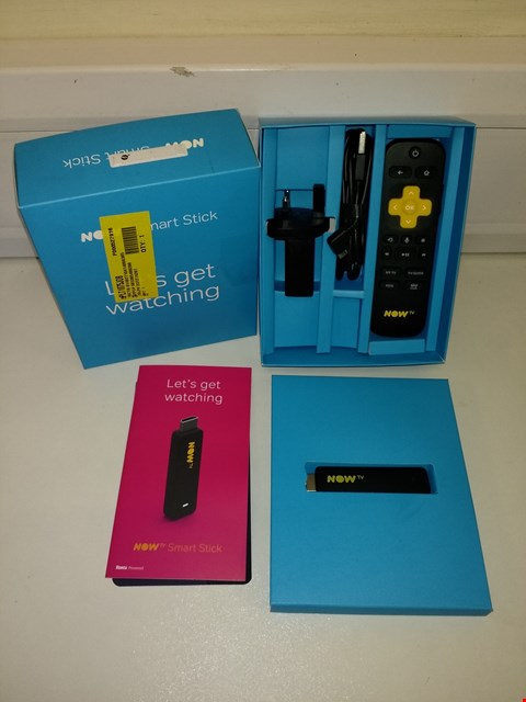 Lot 3006 NOW TV SMART TELEVISION STREAMING STICK
