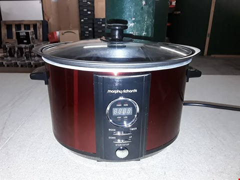 Lot 791 MORPHY RICHARDS SEAR STEW SLOW COOKER