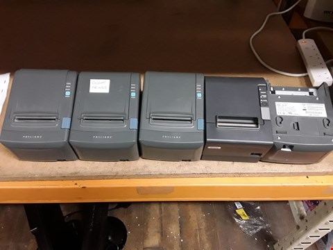 Lot 4114 JOB LOT 5 X TILL RECEIPT PRINTERS