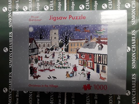 Lot 750 LOT OF 3 ASSORTED JIGSAW PUZZLES TO INCLUDE ONLY FOOLS AND HORSES, ALISON GARDINER CHRISTMAS IN THE VILLAGE AND THE CHRISTMAS EXPRESS