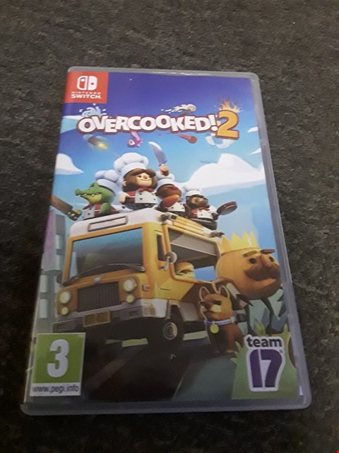 Lot 2533 OVERCOOKED 2 NINTENDO SWITCH GAME